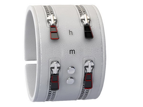 Часы Zipper Bracelet Watch от Андрея Куровца (Andy Kurovets)