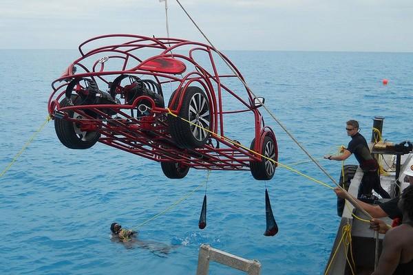 Подводная версия Volkswagen Beetle