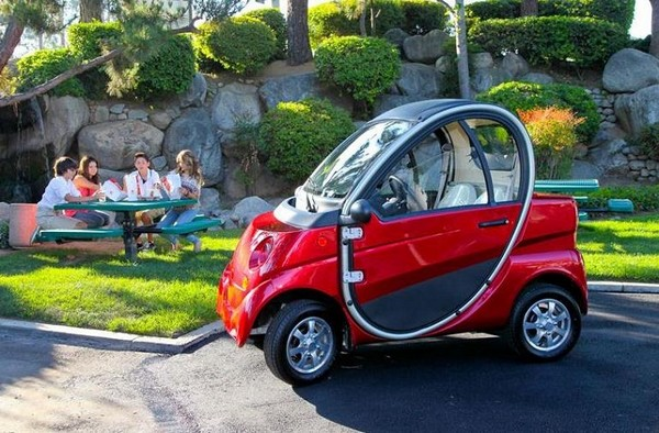 Eco-E — самый дешевый в мире электромобиль