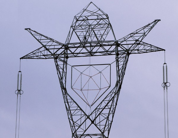 Colosso — электроопора, так похожая на робота