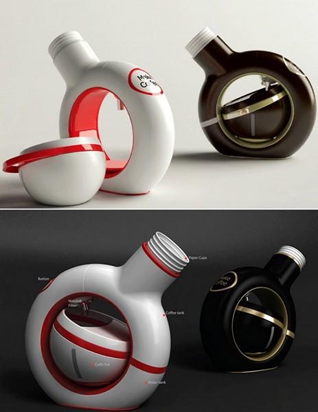 Мини-кофеварка P-Cup для одной чашки