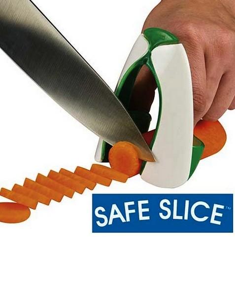 Безопасный нож для нарезки овощей