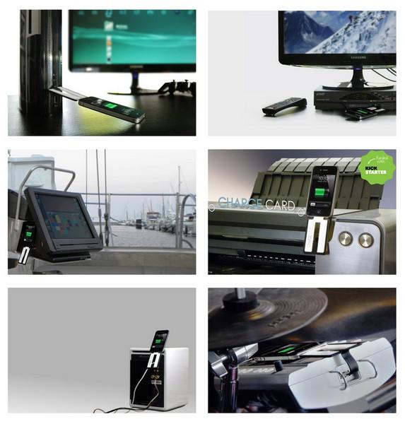 Chargecard: инновационное миниатюрное зарядное устройство для смартфона