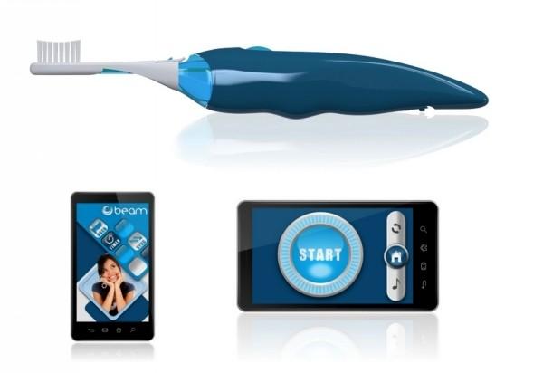 Контроль за чисткой зубов. *Умная* щетка Beam Brush с приложением для телефона