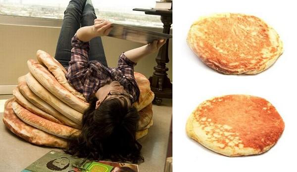 Аппетитные подушки  Pancakes Floor Pillow