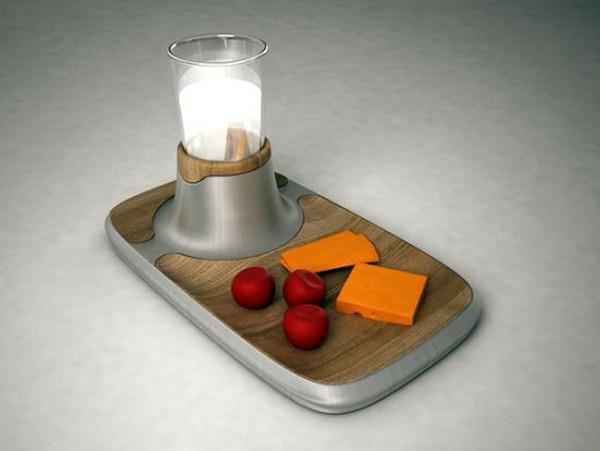 Ehl-i Keyf: поднос для еды и кружки с охлаждением и подогревом