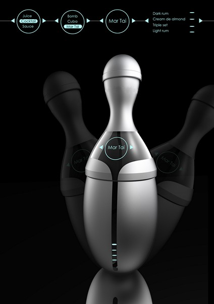 Шейкер Electrolux Tempo Blender с музыкой для коктейлей