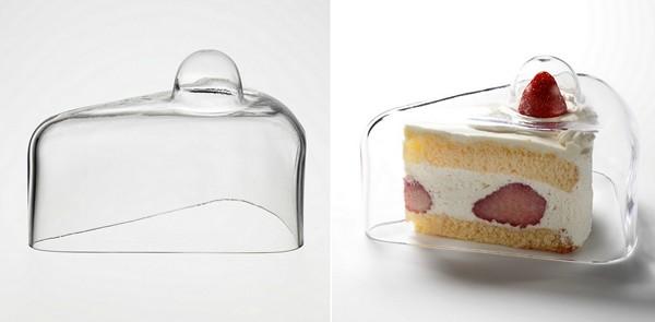 Yum Yum Covers. Стеклянная крышка для одного куска торта