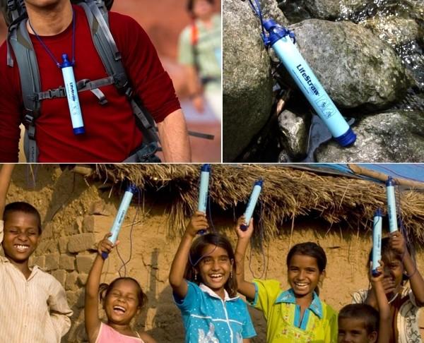 LifeStraw от Vestergaard Frandsen. Персональный фильтр для воды в виде трубочки