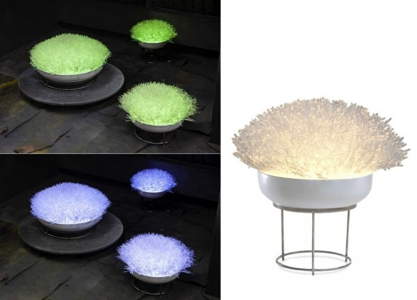 Anemone Collection. Лампы-анемоны от дизайнера Оливии д`Абовиль (Olivia d'Aboville)