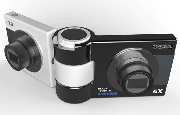 Black & White Camera — фотоаппарат, который имеет разные точки зрения