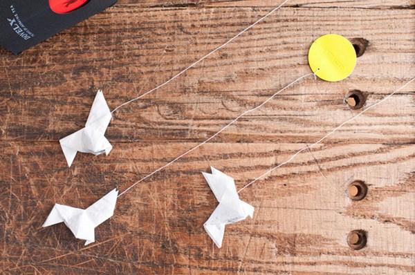 Dovely Tea — чайные пакетики в стиле оригами