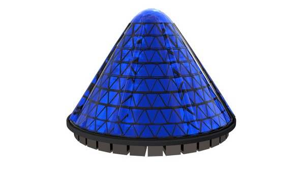 Spin Cell — крутящиеся конусообразные солнечные панели от V3Solar