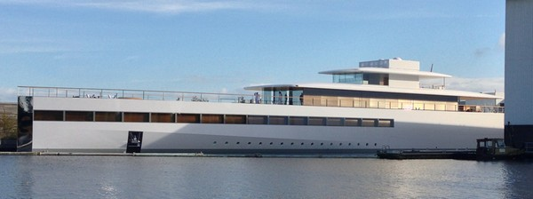Venus – яхта для Стива Джобса