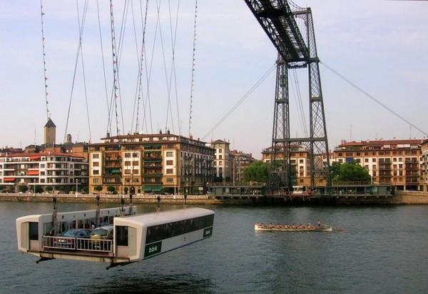 Бискайский мост — подвесной паром в Бильбао