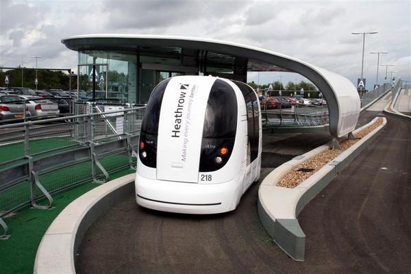 ULTra – беспилотные такси в аэропорте Хитроу