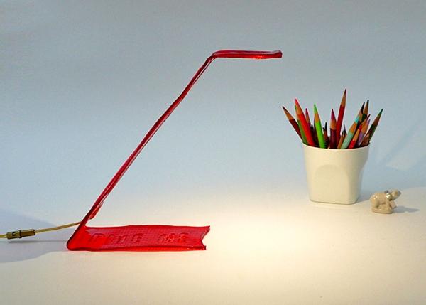 Bite me, съедобная лампа от Виктора Веттерлейна
