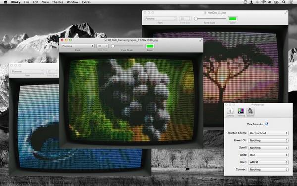 Blinky – винтажный текстовый редактор для iMac и MacBook