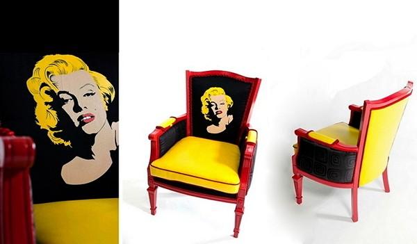Коллекция ярких и модных кресел Boom Boom Chairs от Кристины Дельвеккио (Christine Delvecchio)
