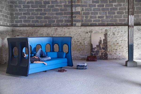 Диван-самолет Elevate Seating от Марка Венота (Marc Venot)