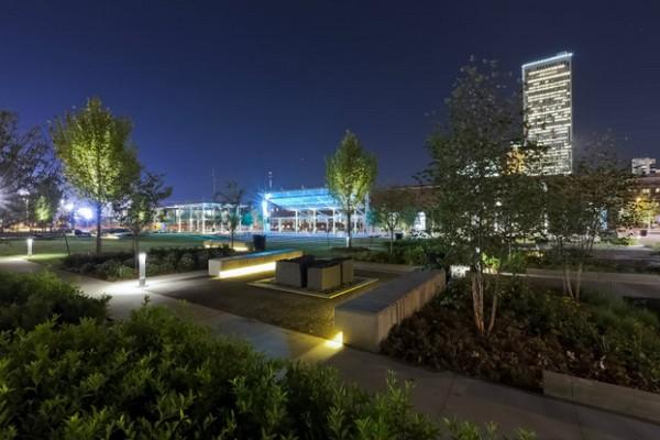 Guthrie Green Park — зеленый уголок с «зеленой» энергией