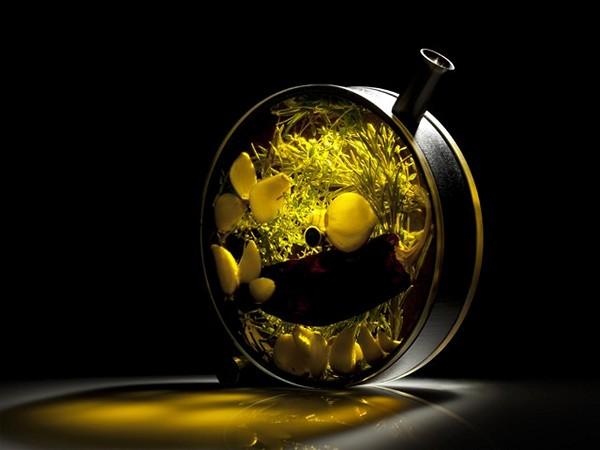 The Porthole от Crucial Detail. Сосуд-иллюминатор для необычных коктейлей