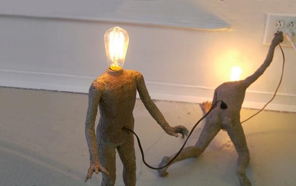 Арт-светильники Lightbulb People от Стивена Шахина (Stephen Shaheen)