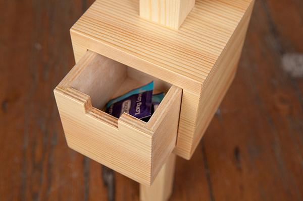 *Зевака*. Стол для ленивого студента от дизайнера Ярослава Мисонжникова