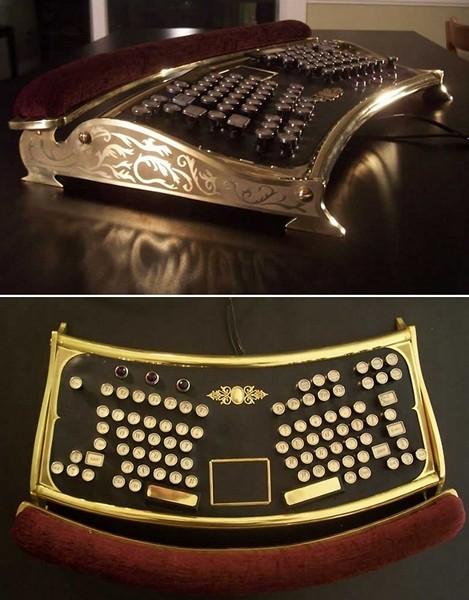 Стимпанк-клавиатуры для любителей эксклюзива