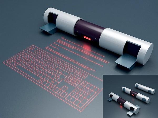 Концептуальные лазерные клавиатуры