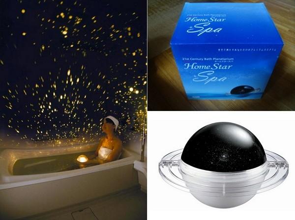 Homestar Bath Planetarium. Домашний планетарий для ванны *под звездами*