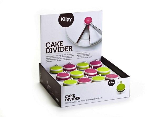 Торт на равные кусочки. Умный *дозатор* Klipy Cake Divider от Animi Causa