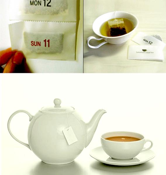 Calendar Teabags. Календарь для чаелюбов Cho Hee Ha