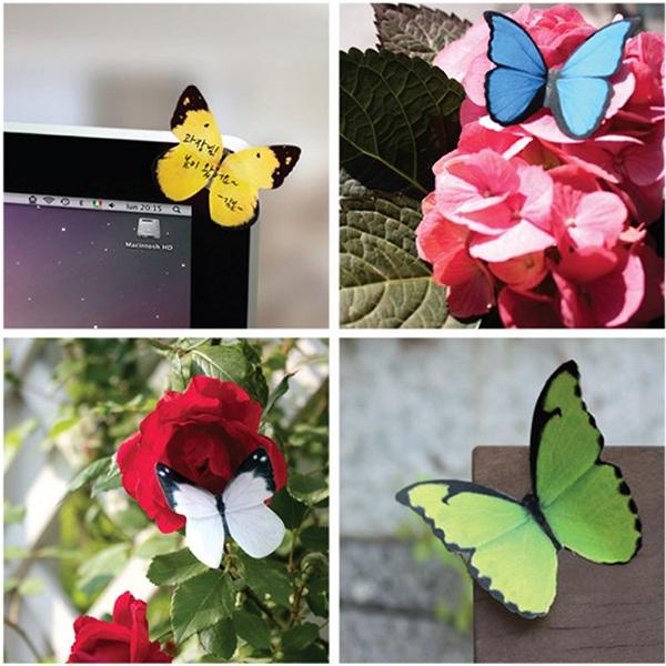 Яркие оригинальные стикеры-бабочки