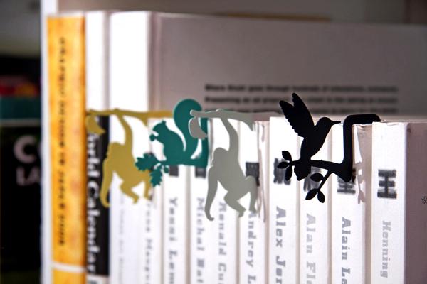 Закладки-зверушки, серия Jungle Bookmark от Dcell