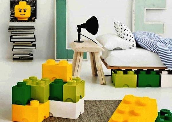 Ящики-кубики. Необычные LEGO-контейнеры от  Room Copenhagen