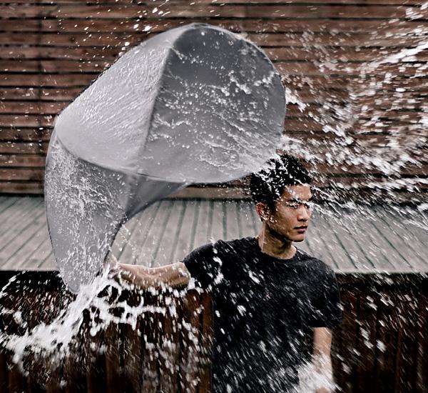 Спасительный зонт-щит Rain Shield от Lin Min-Wei и Liu Li-Hsiang