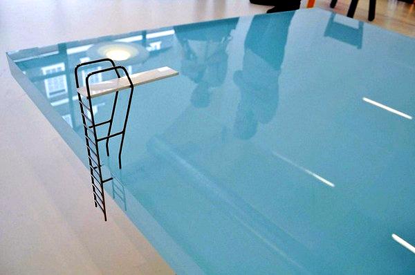Swimming Pool Table, простой и стильный журнальный столик от Freshwest Design