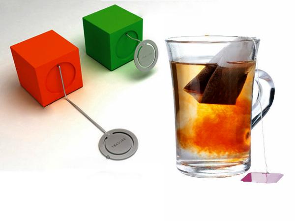 Концепт TeaCube, кубик-заварник с таймером