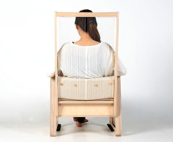 Музыкальный дизайнерский инструмент, кресло Echoism Chair