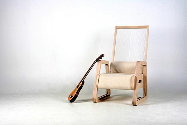 Струнное музыкальное кресло Echoism Chair