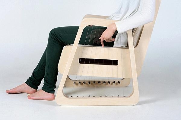 Музыкальный проект Echoism Chair от дизайнера JaeYoung Jang