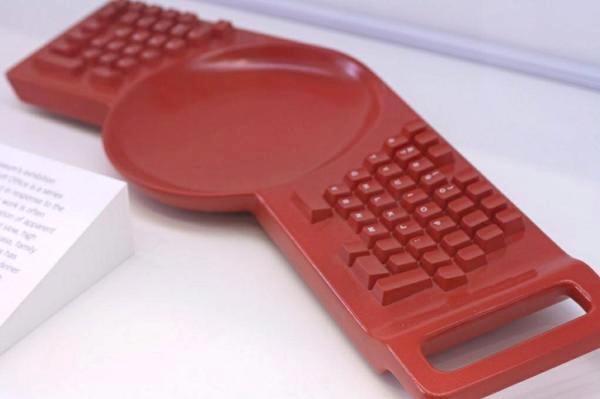 Концепт для гиков. Keyboard Plate от  Hella Jongerius