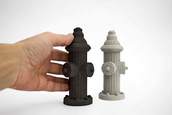 Li2bitt shakers: бетонные солонка и перечница в виде пожарных гидрантов
