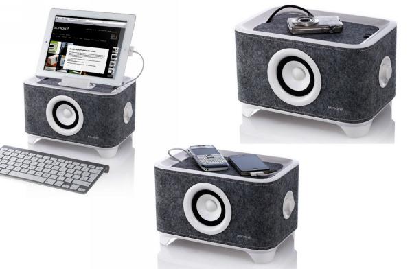 Troy System от Sonoro, стильная док-станция для мобильных гаджетов
