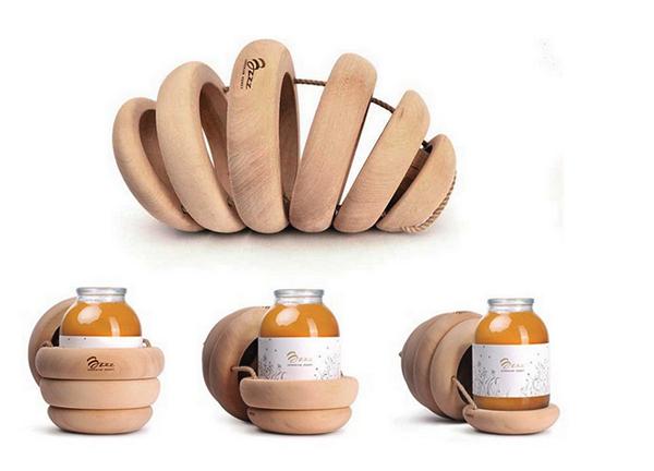 Bzzz Honey для *правильного* меда. Креативная упаковка  от Backbone Studio