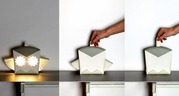 Pop Up lighting. Ночники в стиле книжек-раскладушек