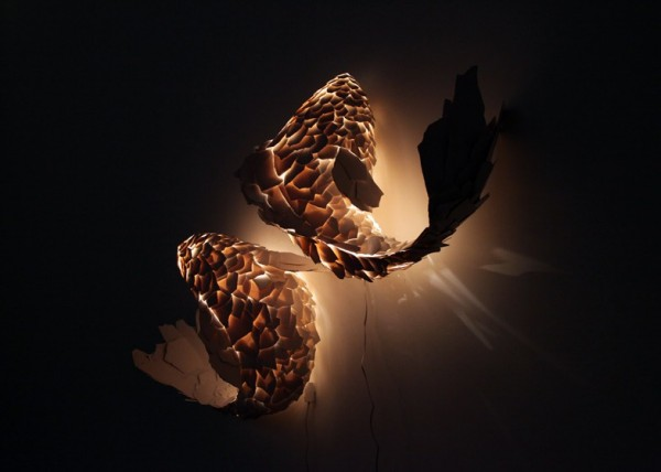 Fish Lamps – коллекция светильников из осколков пластика от Френка Гери (Frank Gehry)