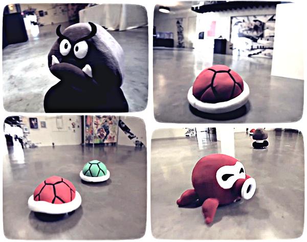 Пылесосы iRobot в чехлах-костюмах из 8-битных игр