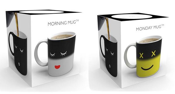 Волшебные кружки Morning Mug и Monday Mug